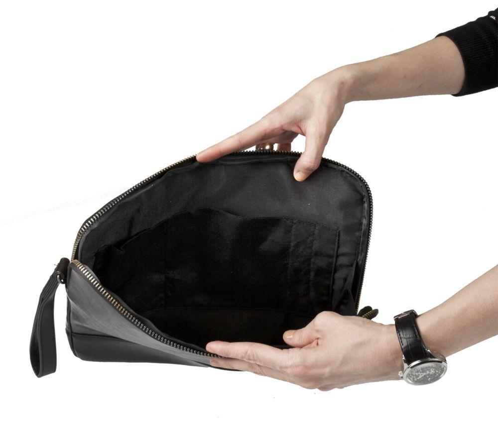682cd650e556 ... Папка-чехол для планшета Wall Street Tablet, черная с логотипом в Екатеринбурге  заказать по