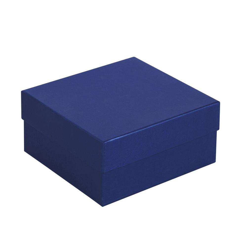 45108c69a820 Коробка Satin, малая, синяя с логотипом в Екатеринбурге заказать по выгодной  цене в кибермаркете ...